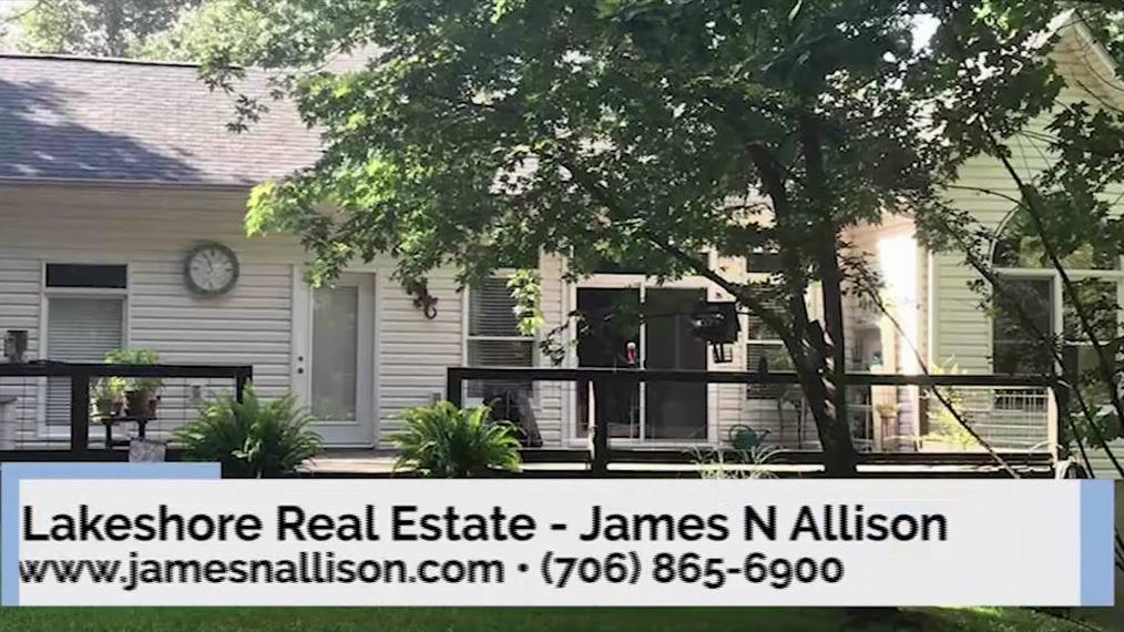 Real Estate Agent in Cleveland GA, Lakeshore Real Estate - James N Allison