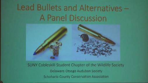 Suny Cobleskill Lead Ammo Discussion