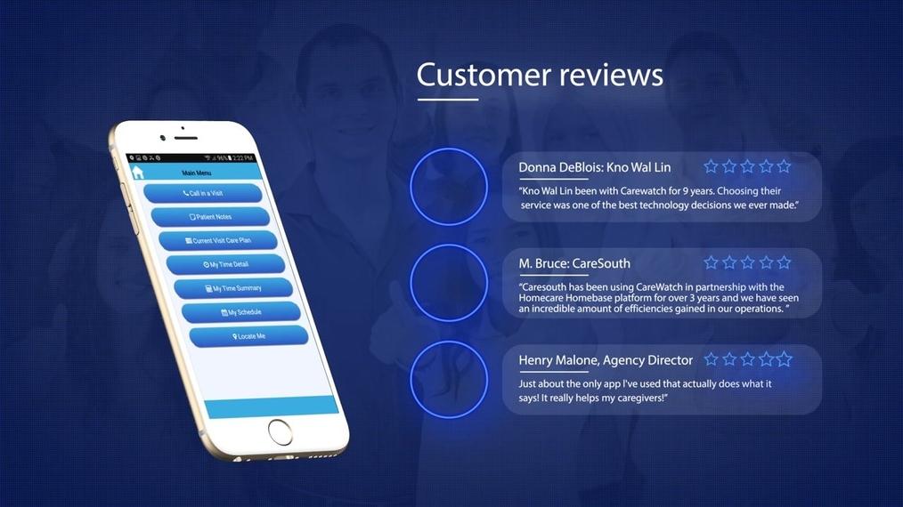 Carewatch AideAssist Mobile App v2