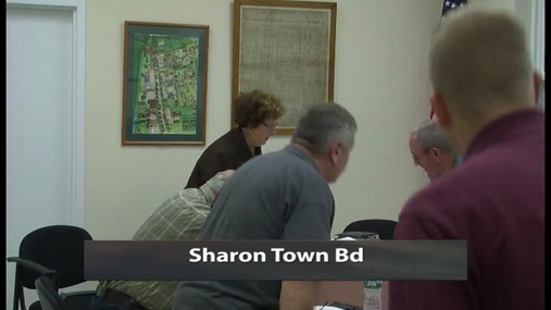 Sharon Town Bd -- 5 Oct 2016