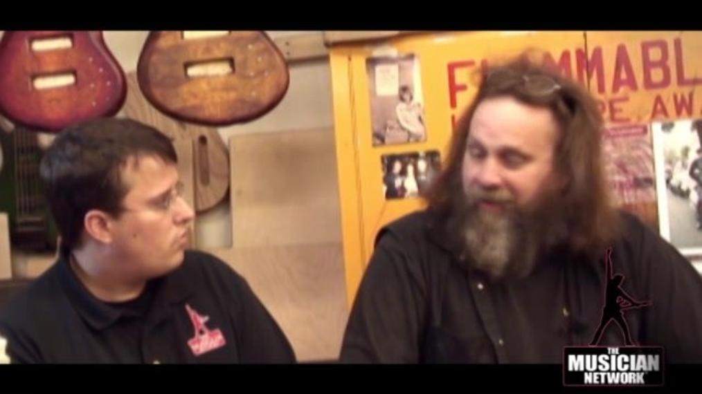 GUITAR SHOP ® - Interview with Mr Chris Hofschneider