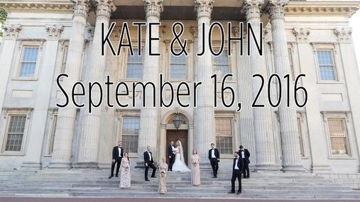Kate and John