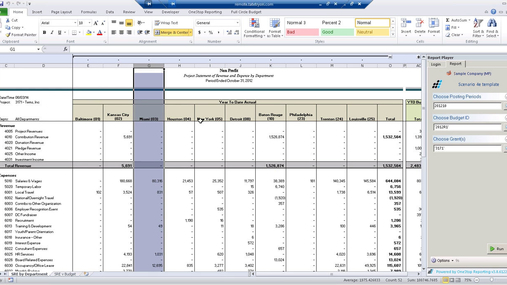 Financial Reporting with BI360 OSR