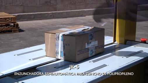 Enzunchadoras Plástico Sobremesa JK-5  y JK5000