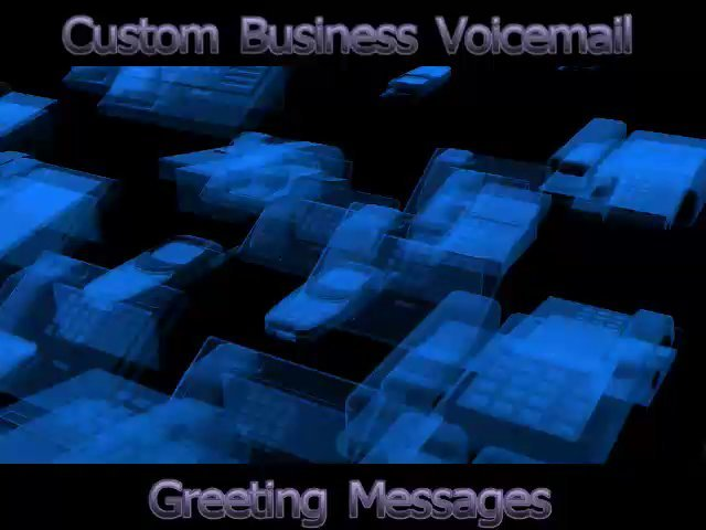 Record your business voice mail greeting message