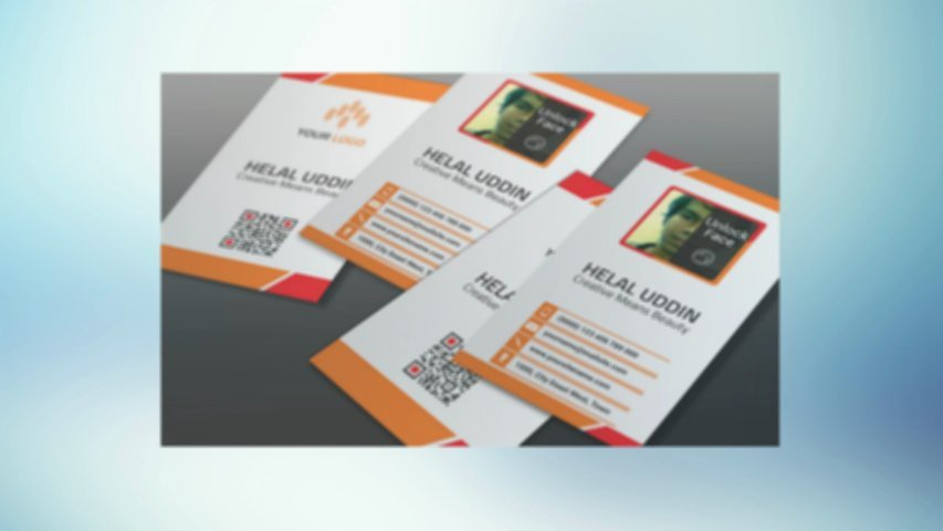 Design your business card & custom size Business card