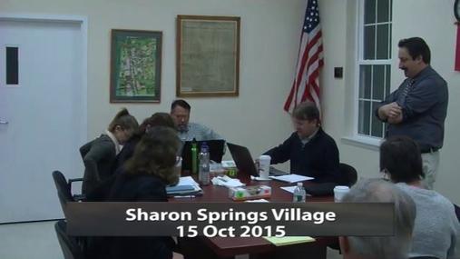 Sharon Springs Village 15 Oct 2015 Pt.1