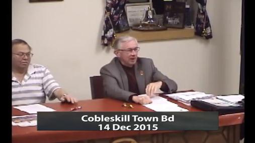 Cobleskill Town Bd 14 Dec 2015