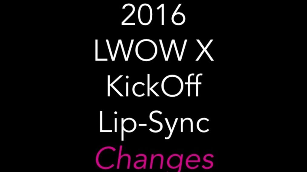 2016 LWOW X KickOff Lip-Sync