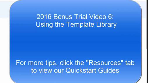 NexGen Tips & Tricks:  Using the Template Library
