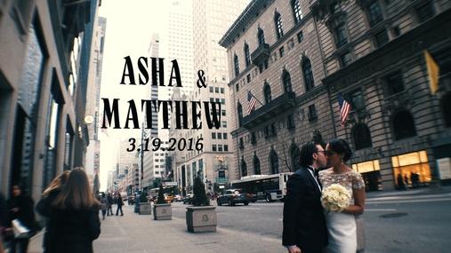 Asha and Matthew