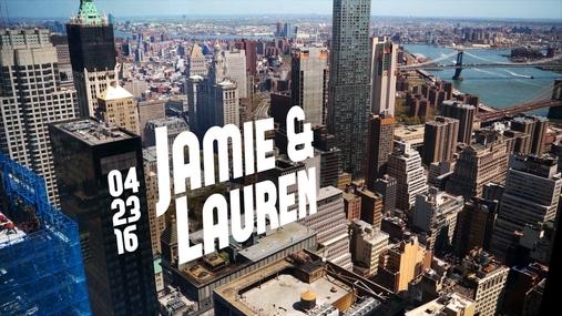Jamie and Lauren
