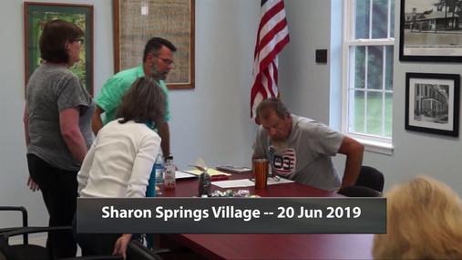 Sharon Springs Village -- 20 Jun 2019