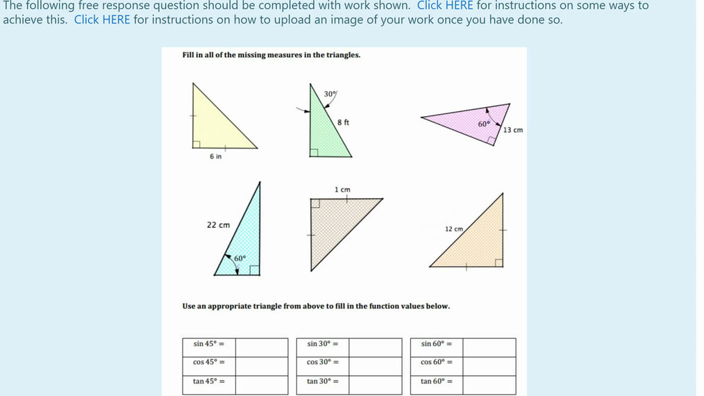 Homework Help Special Right Triangles Question 5.mp4