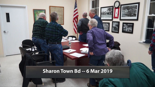 Sharon Town Bd -- 6 Mar 2019
