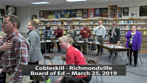CRCS BOE Workshop -- 3,25,2019