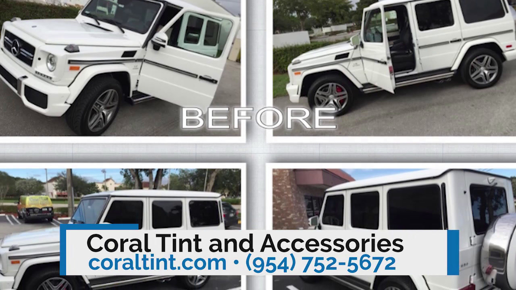 Window Tinting in Coral Springs FL, Coral Tint and Accessories