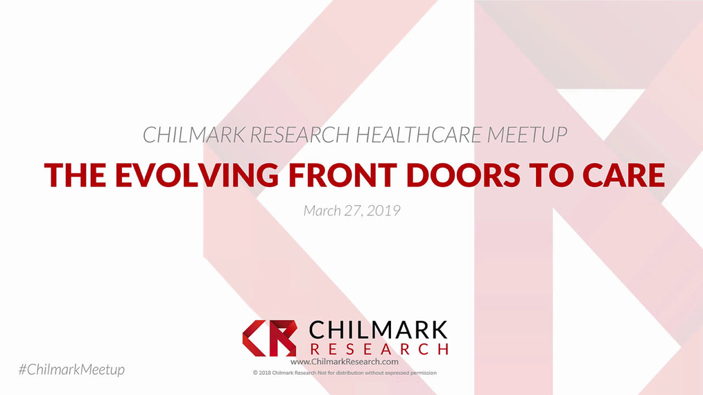 Meetup: The Evolving Front Doors to Care