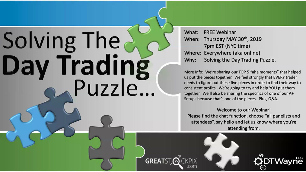 Solving The Day Trading Puzzle