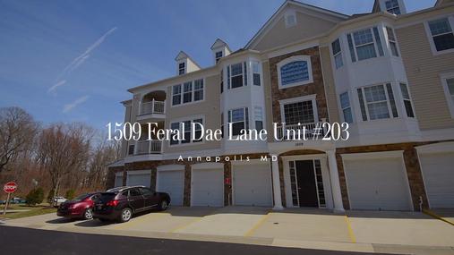1509 Feral Dae Lane, Unit #203, Annapolis, MD 21401