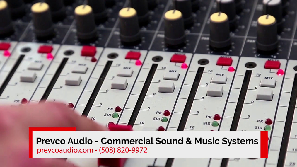 Commercial Sound in Framingham MA, Prevco Audio - Commercial Sound & Music Systems