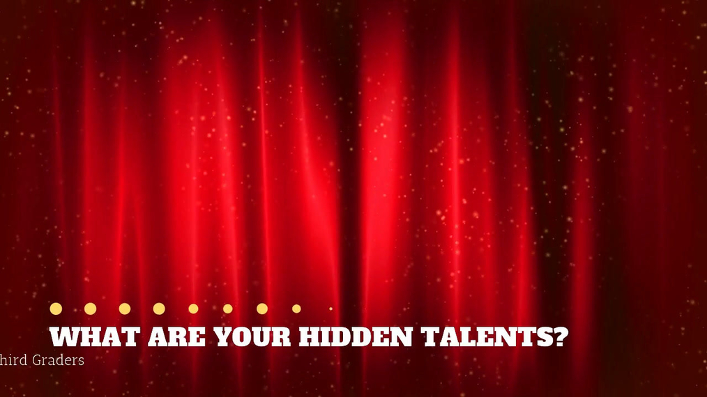 Let Your Talent Shine