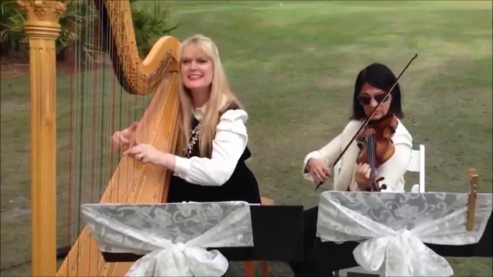 Violinist L.V.W & Harpist V.G.