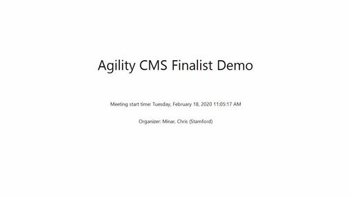 Agility CMS Finalist Demo.mp4