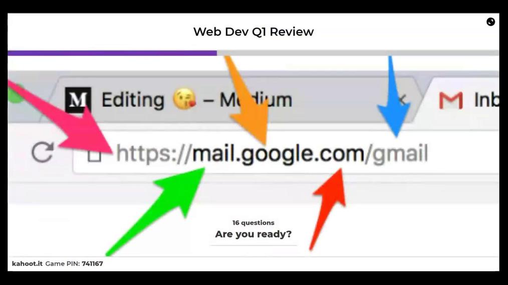 Web Development Midterm Exam Review