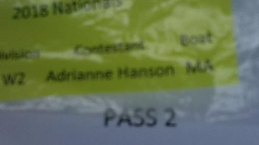Adrianne Hanson W2 Round 1 Pass 2