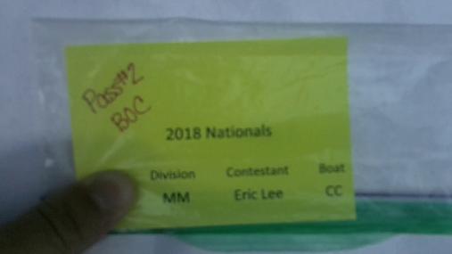 Eric Lee MM Round 1 Pass 2