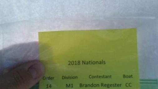 Brandon Regester M1 Round 1 Pass 1