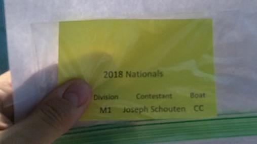 Joseph Schouten M1 Round 1 Pass 1