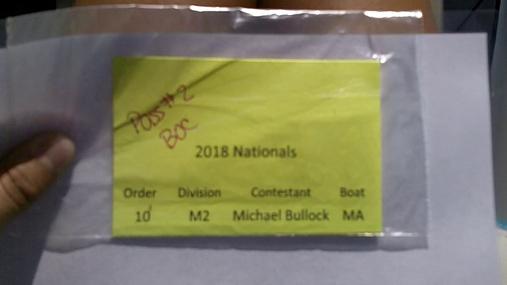 Michael Bullock M2 Round 1 Pass 1