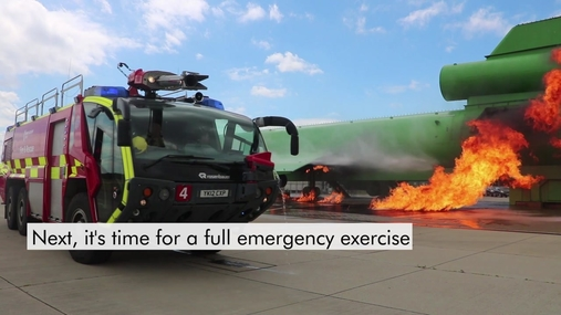 A day in the life of Stansted Airport Fire and Rescue Service