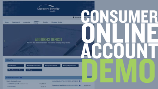 Consumer Online Account Demo