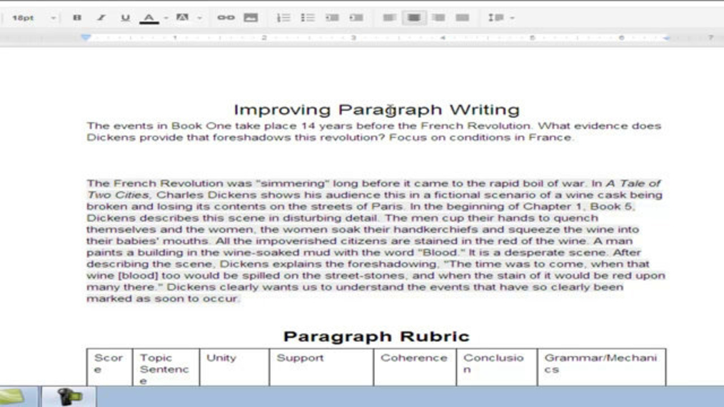 Revising a Paragraph--Week 8.mp4