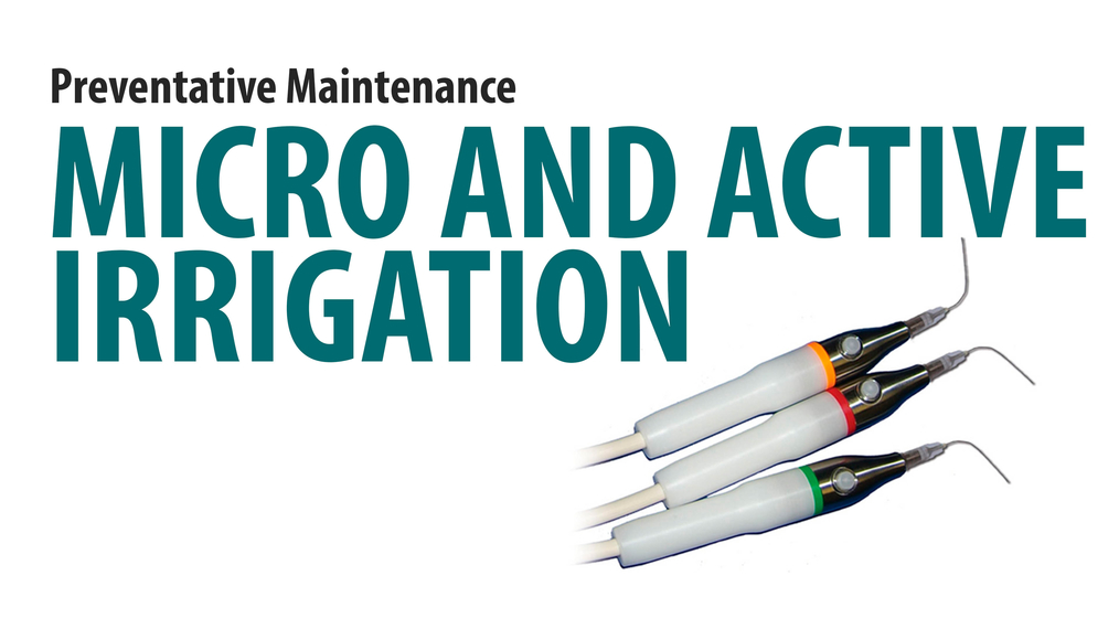 Micro and Active Irrigation- Daily/Weekly/Monthly Maintenance [66-3002]