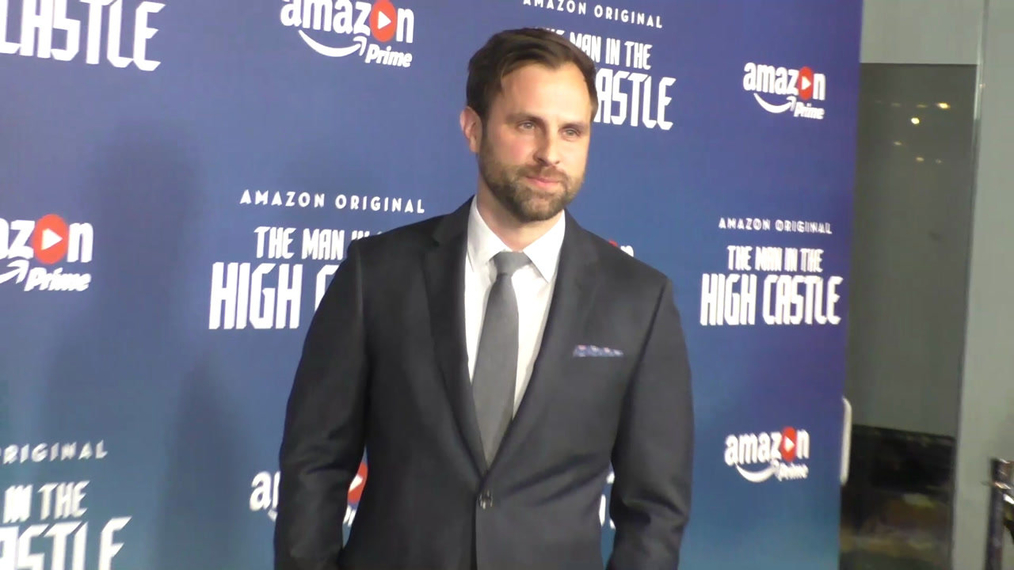 Aaron Blakely at the Premiere Of Amazon's Man In The High Castle Season 2 at the Pacific Design Center in West Hollywood.mp4