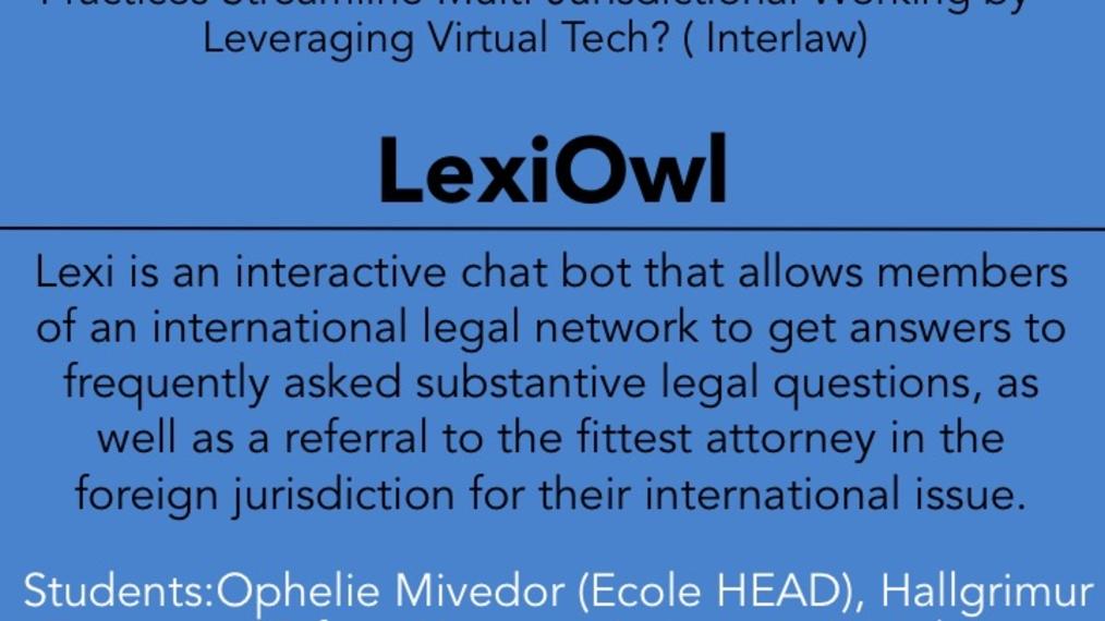 2017 LWOW O POW: LexiOwl