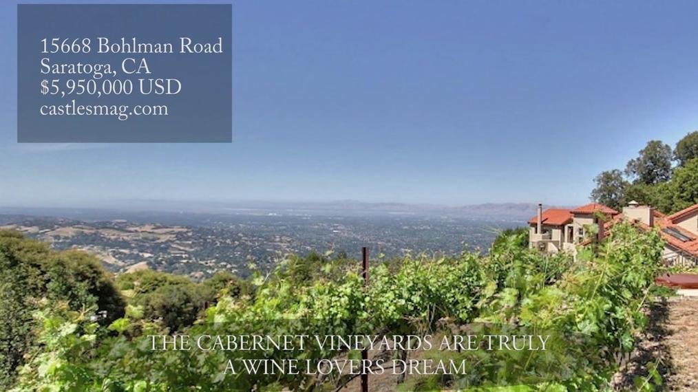 15668 Bohlman Road, Saratoga, CA