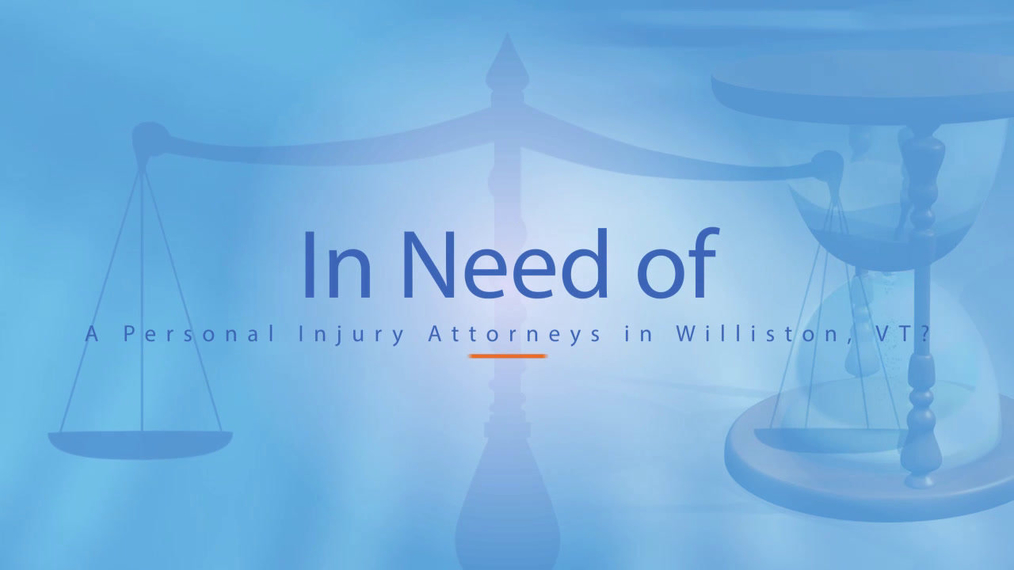 Personal Injury Attorneys in Williston VT, The Law Offices of Steven A. Bredice PLC