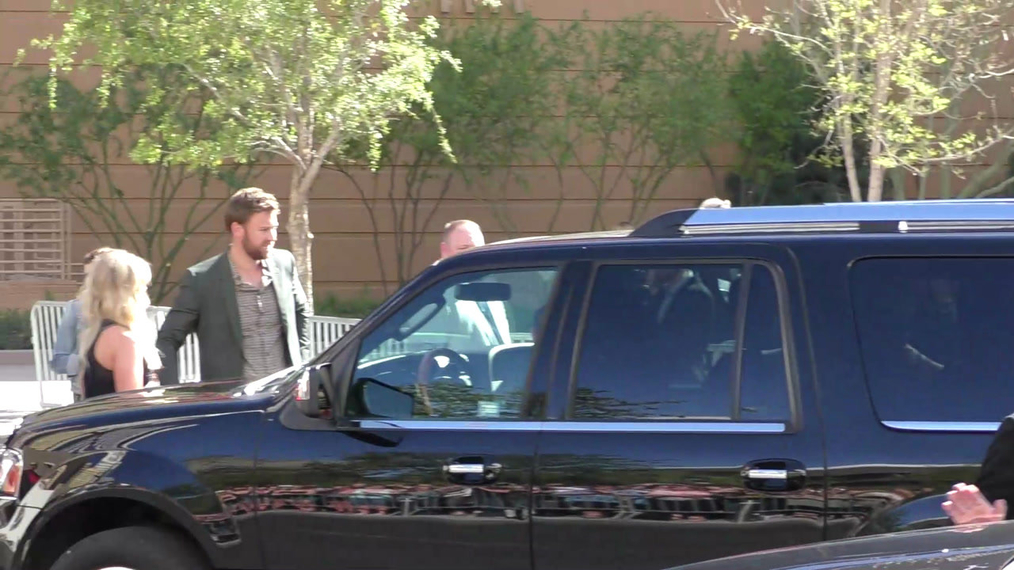 Lady Antebellum arriving to the 52nd Academy Of Country Music Awards at T-Mobile Arena in Las Vegas.mp4