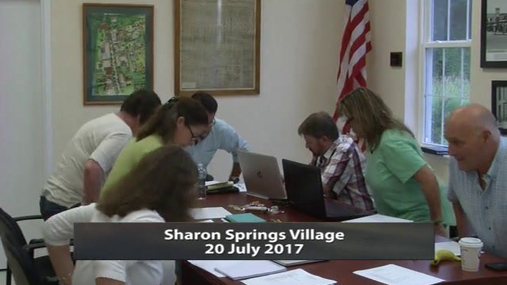 Sharon Springs Village -- 20 July 2017