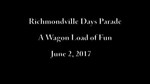 Richmondville Days Parade--2 June 2017