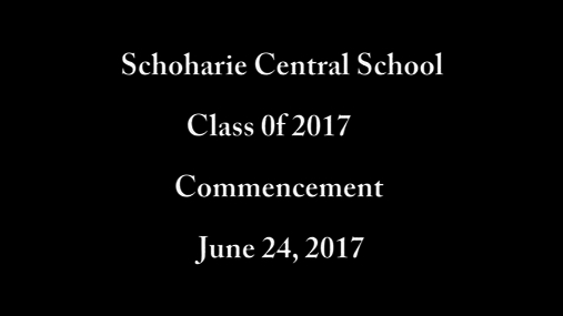 SCS Class 0f 2017 Graduation