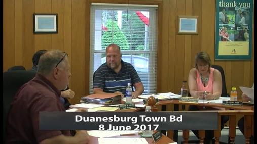 Duanesburg Town Bd__8 June 2017
