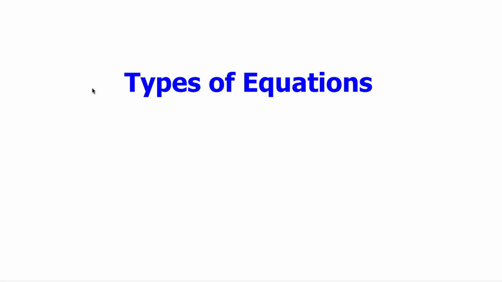 Types of Equations & Graphs.mp4