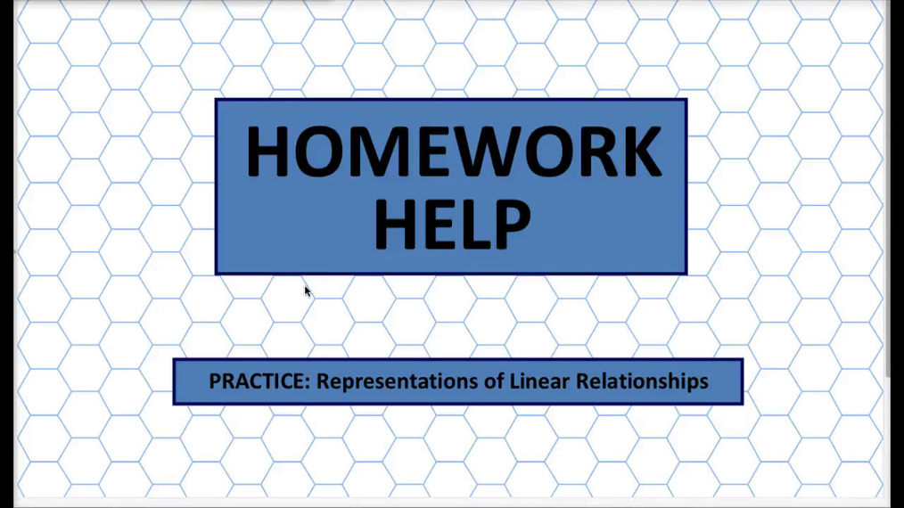 Q1 HH Representations of Linear Relationships.mp4