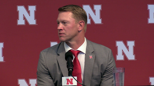 Frost- Making Nebraska Football Great